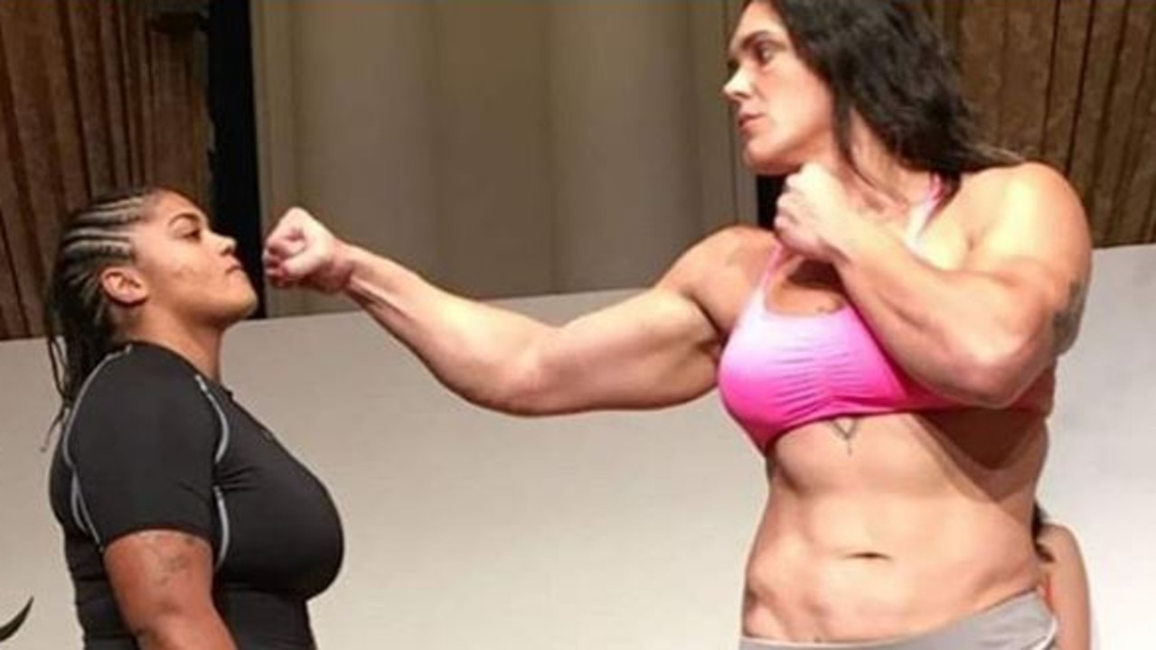 Gabi Garcia is one terrifying opponent.