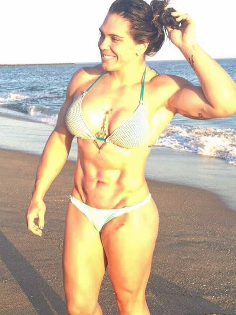 Gabi Garcia is a scary fighting machine.