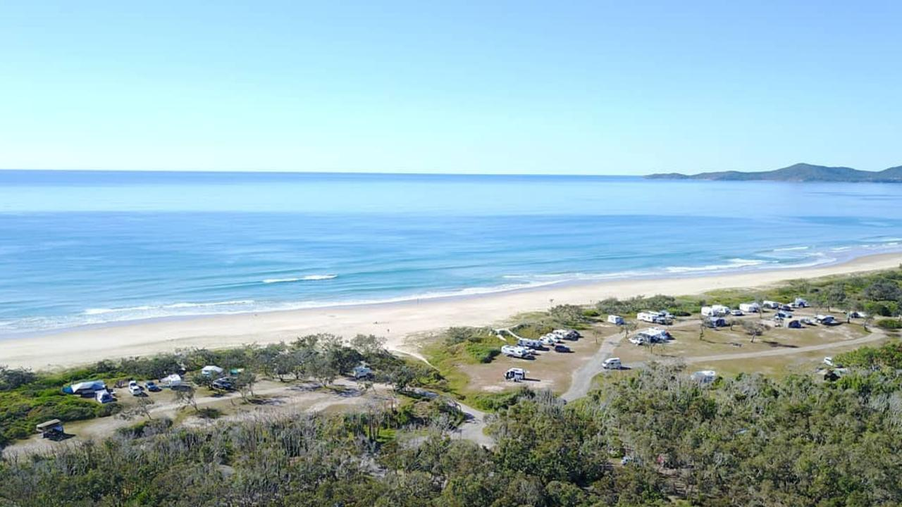 Noosa North Shore Beachfront Campground.