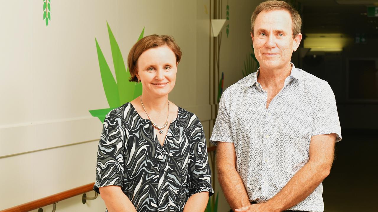 Janice Beavis with Fetal Maternal Specialist Dr David Watson.
