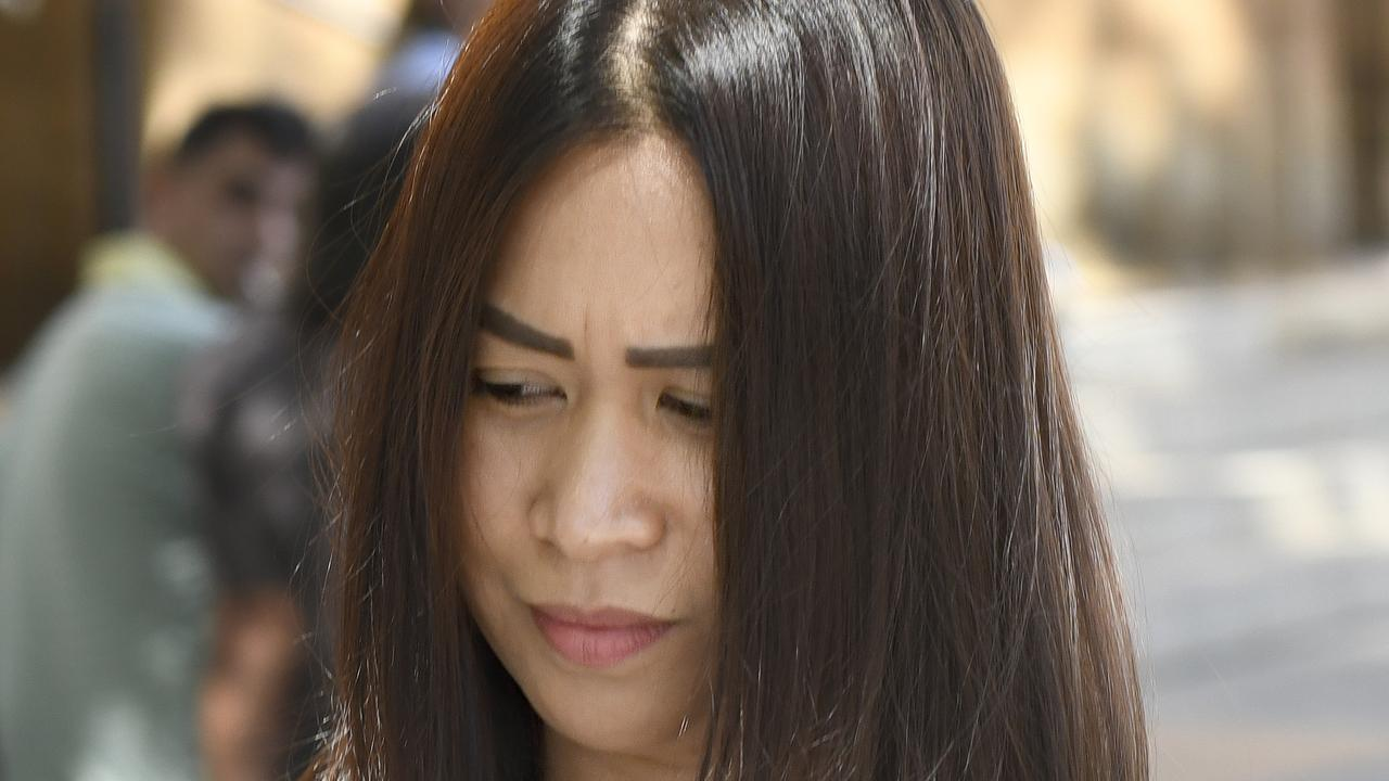 Cecille Garcia Yalung is yet to plead to 88 alleged breaches of food safety standards. Her case was adjourned to a date in April. Picture: NCA NewsWire/Naomi Jellicoe