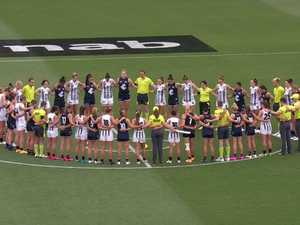 Teams come together for moving Jacinda Barclay tribute