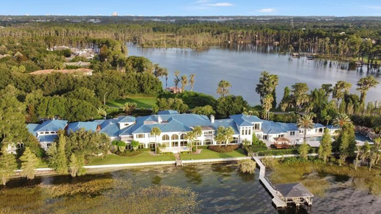 Shaq originally wanted around $36 million for the house. Picture: Realtor