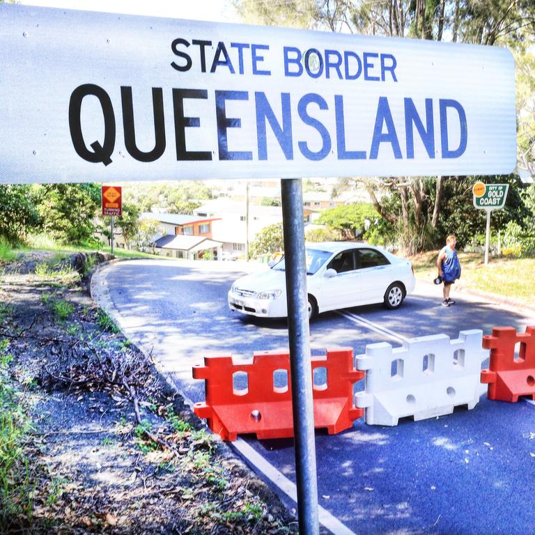 The Queensland border closures have hit the tourism industry hard. Picture: Scott Powick
