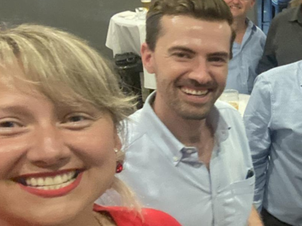 Andrea Tokaji pictured recently with WA Liberal leader Zak Kirkup. Picture: Facebook