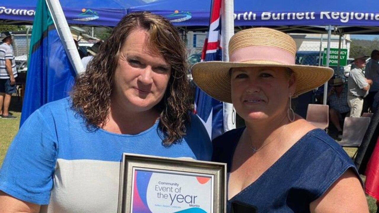 Melinda Jones, President of Monto Magic Tourism Action Group and Carly Baker-Burnham, Managing Director of The Rex.