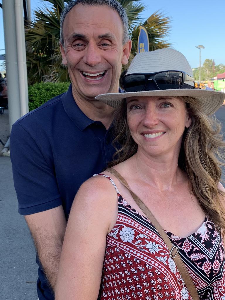 Gympie Australia Day celebrations Scott and Nancy Beckett