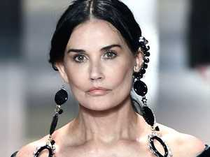 Demi Moore's jaw-dropping runway show
