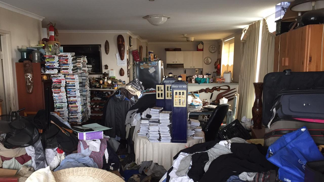 There is barely room to walk through rooms of some hoarders' homes.