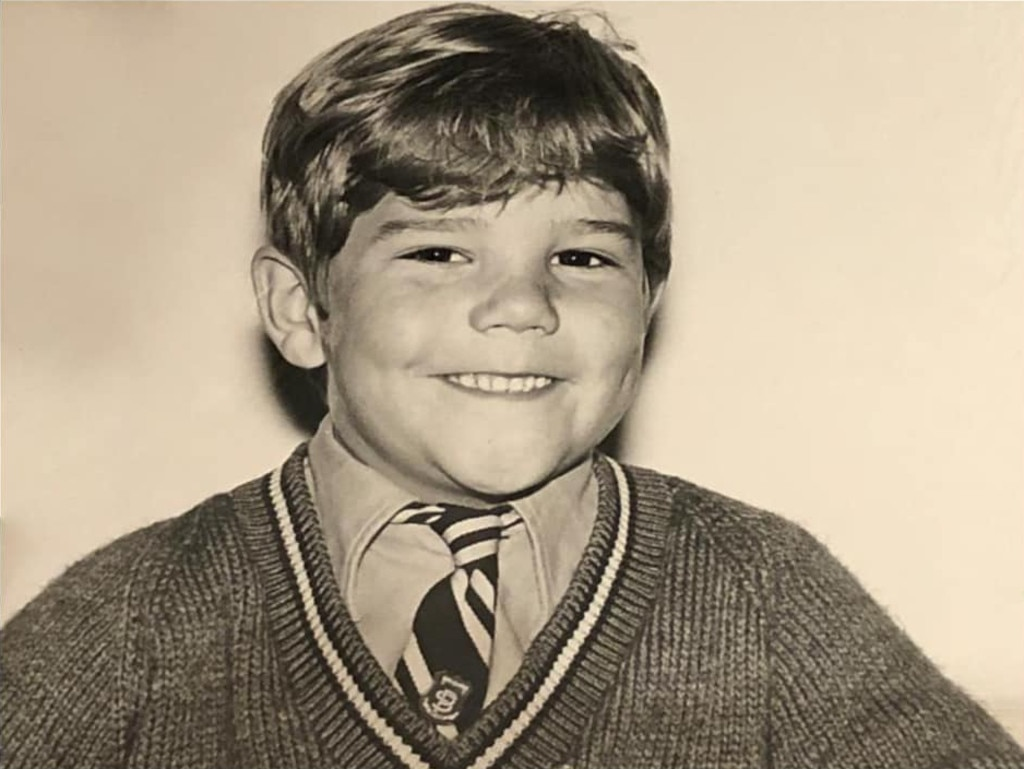 The Prime Minister back in the day. He said he was about five years old at the time. Picture: Facebook/ScottMorrison
