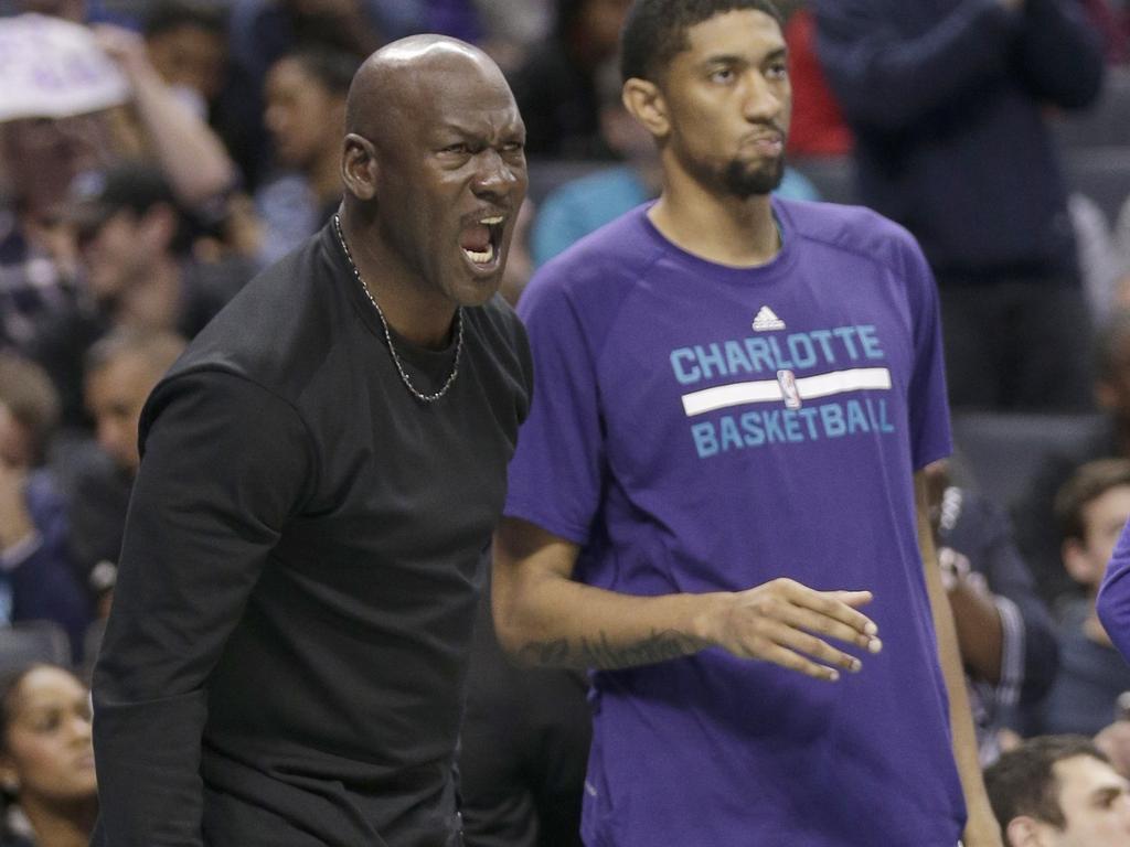 Charlotte Hornets owner Michael Jordan.