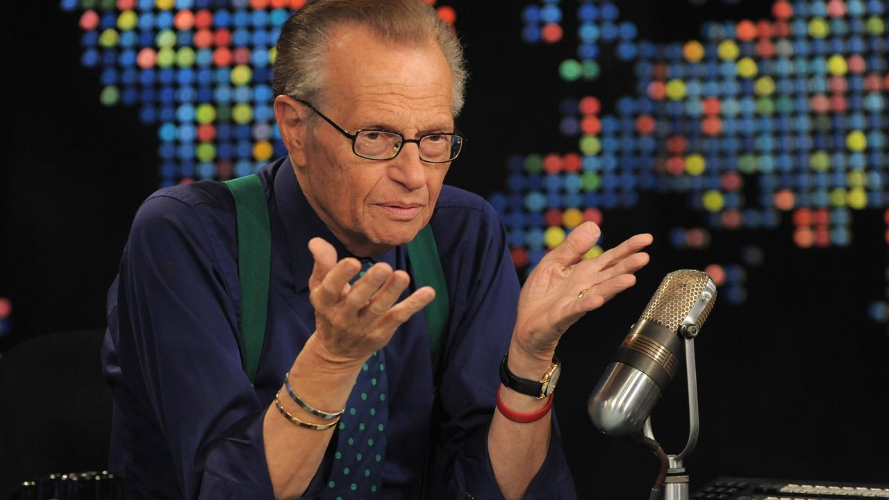Larry King on CNN.
