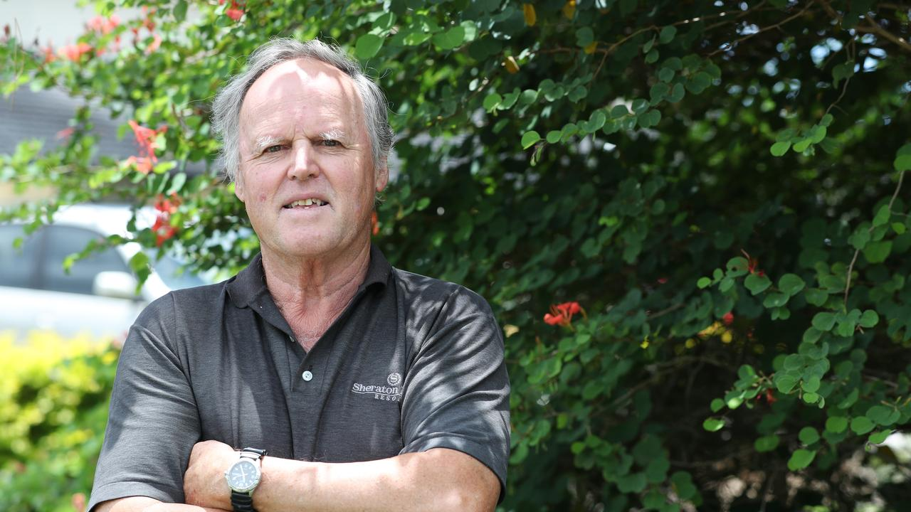 Josef Erharter, whose wife Julie is a resident at Japara Noosa Aged care, says he has always been happy with the level of care provided at the facility.