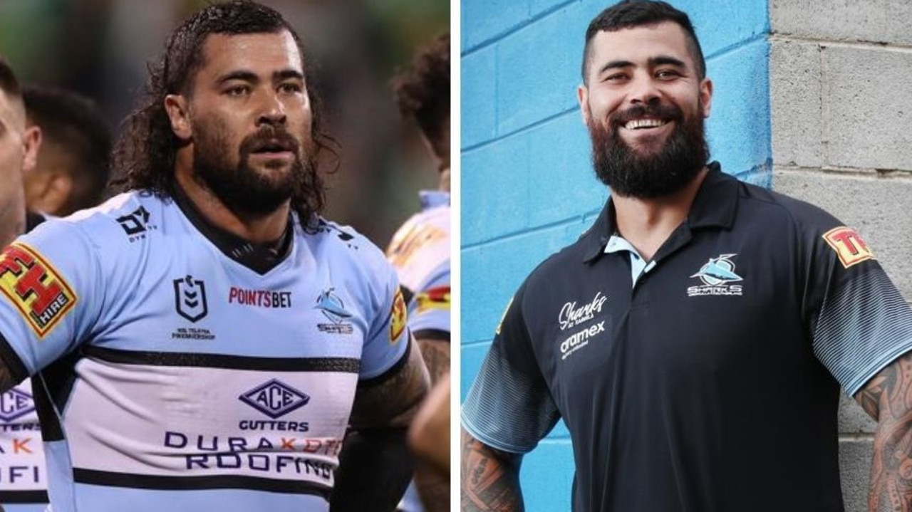 NRL 2021: Cronulla prop Andrew Fifita goes bush to get back into shape