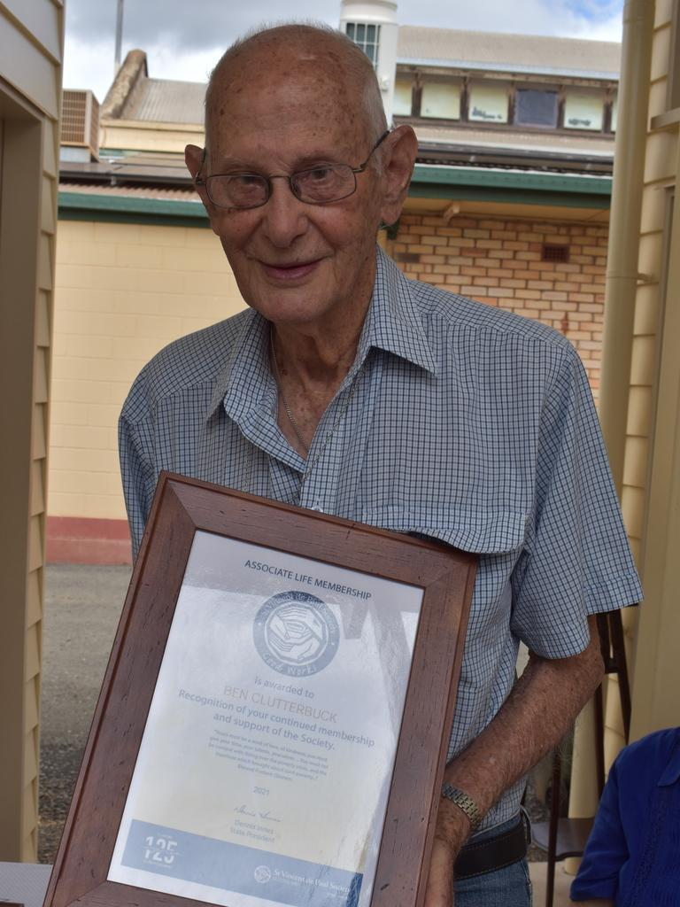 Childers local Ben Clutterbuck has achieved a lot in his life but the former QAS superintendant and volunteer remains humble. Picture: Rhylea Millar