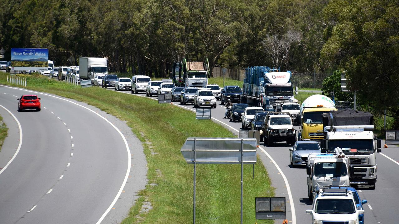 Queensland will reopen the border with NSW on Monday, February 1. Picture: NCA NewsWire/Steve Holland