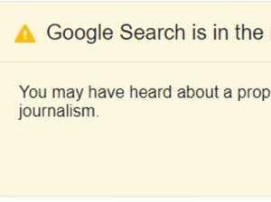 Annoying pop-up on Google explained