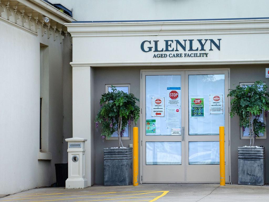 The Glenlyn Aged Care Facility in Glenroy was banned from admitting new residents after failing an audit in August.. Picture: Mark Stewart