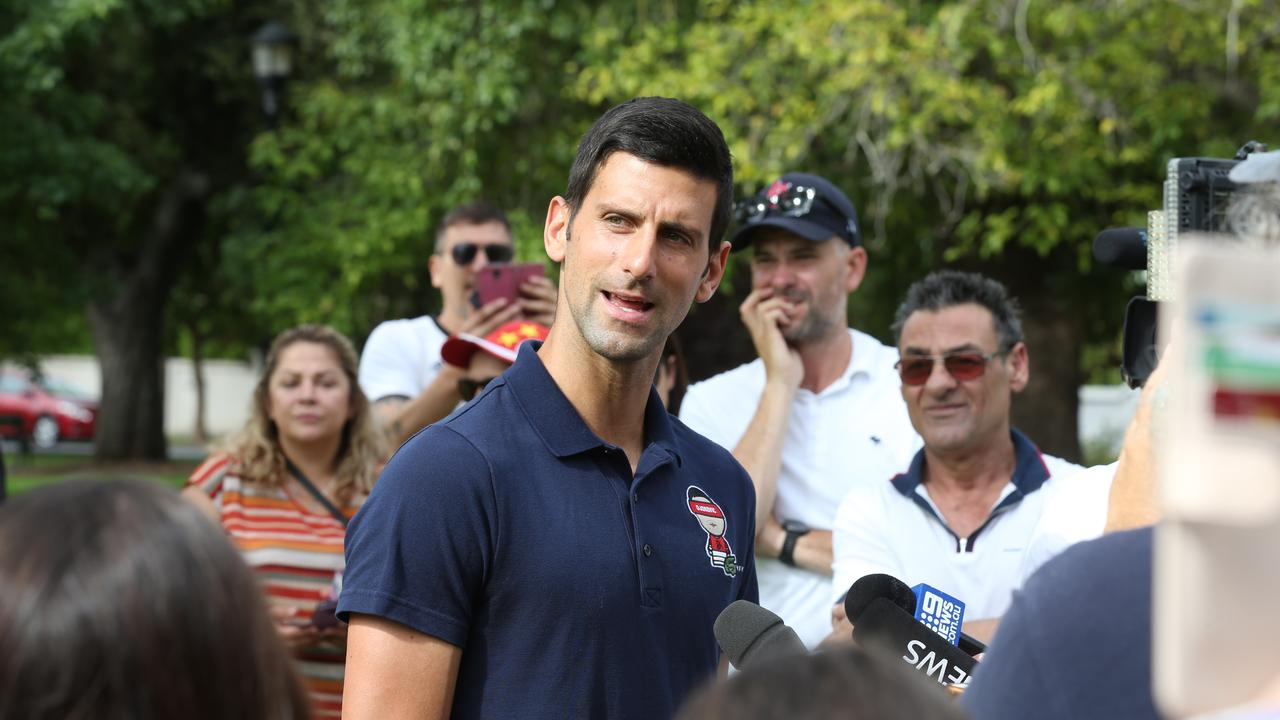 "Novak Djokovic left fans blindsided when he mysteriously pulled out of the first event of the Aussie summer before a ""strong rumour"" leaked out."