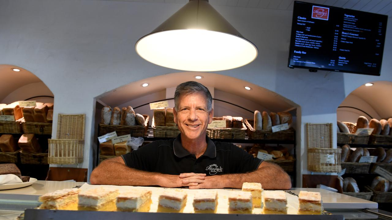 Henry's Bakery Cafe owner Michael Lawson.