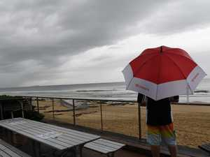 Showers set up shop as wet week predicted