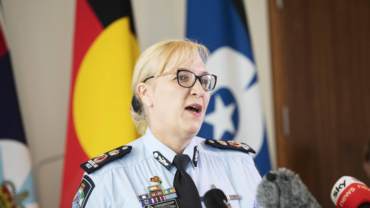 Police Commissioner Katarina Carroll. News Corp/Attila Csaszar
