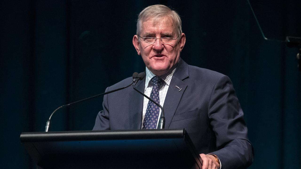 Chief Executive Ian MacFarlane at the Queensland Resources Council Annual Lunch. Picture: Richard Walker