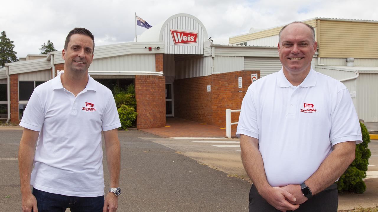 Weis' Keith Head and Stewart Eddie.