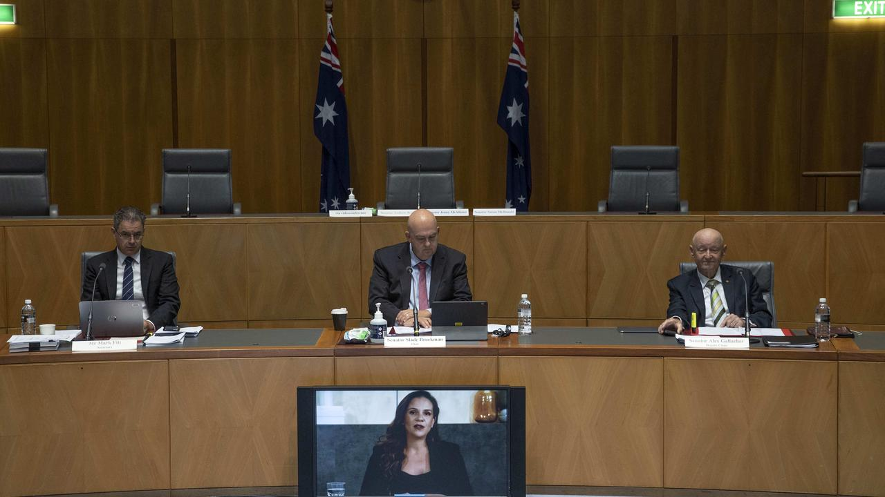 Google Australia has ramped up its campaign against proposed Australian laws after an appearance at a Senate inquiry last week. Picture: NCA NewsWire / Gary Ramage