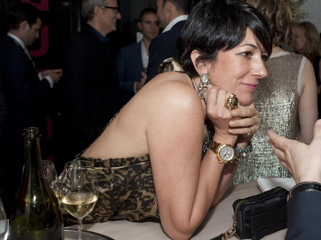 Disgraced socialite and heiress Ghislaine Maxwell has seen hundreds of lurid documents unsealed in court, although she denies all charges. Picture: Supplied