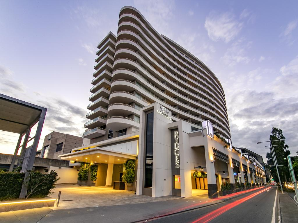 Mr Walker had been placed into quarantine at Rydges Hotel in South Bank. Picture: Richard Walker