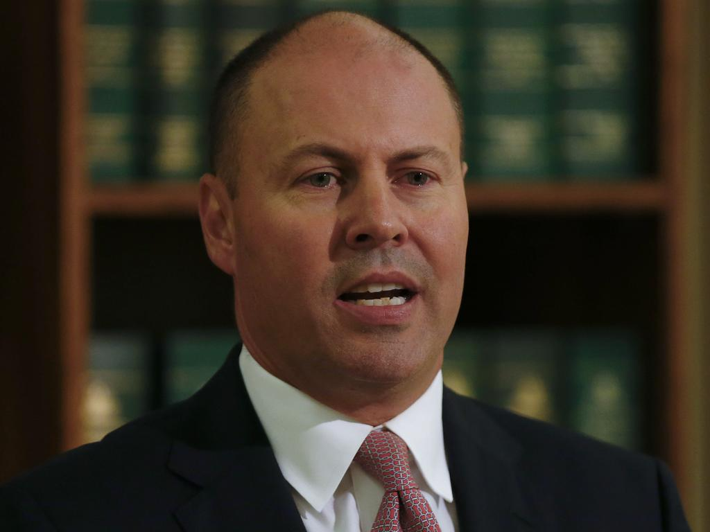 Josh Frydenberg denies the revelations are a humiliation for the government. Picture: NCA NewsWire/Daniel Pockett