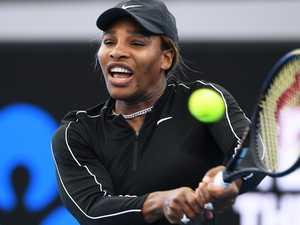 Queen of tennis still has tricks up her sleeve