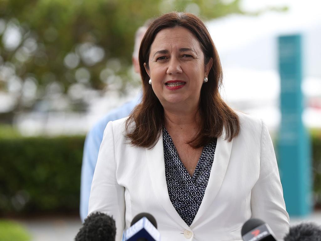 Queensland Premier Annastacia Palaszczuk. Picture: Stewart McLean