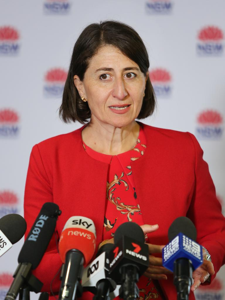 The real Gladys Berejiklian. Picture: Richard Dobson