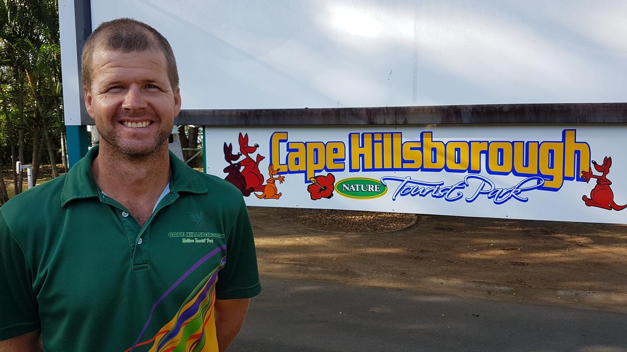 Cape Hillsborough Nature Tourist Park owner Ben Atherton.