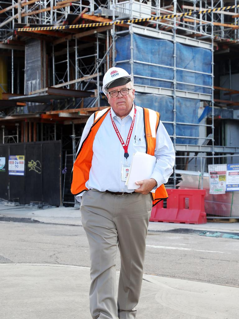 NSW Building Commissioner David Chandler. Picture: Tim Hunter
