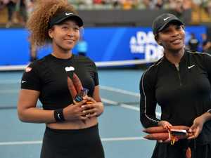 Serena and Osaka pics tell a very different story