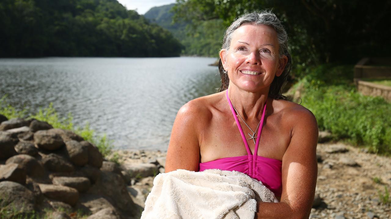 Linda-Joy Schipke at Lake Placid. PICTURE: BRENDAN RADKE