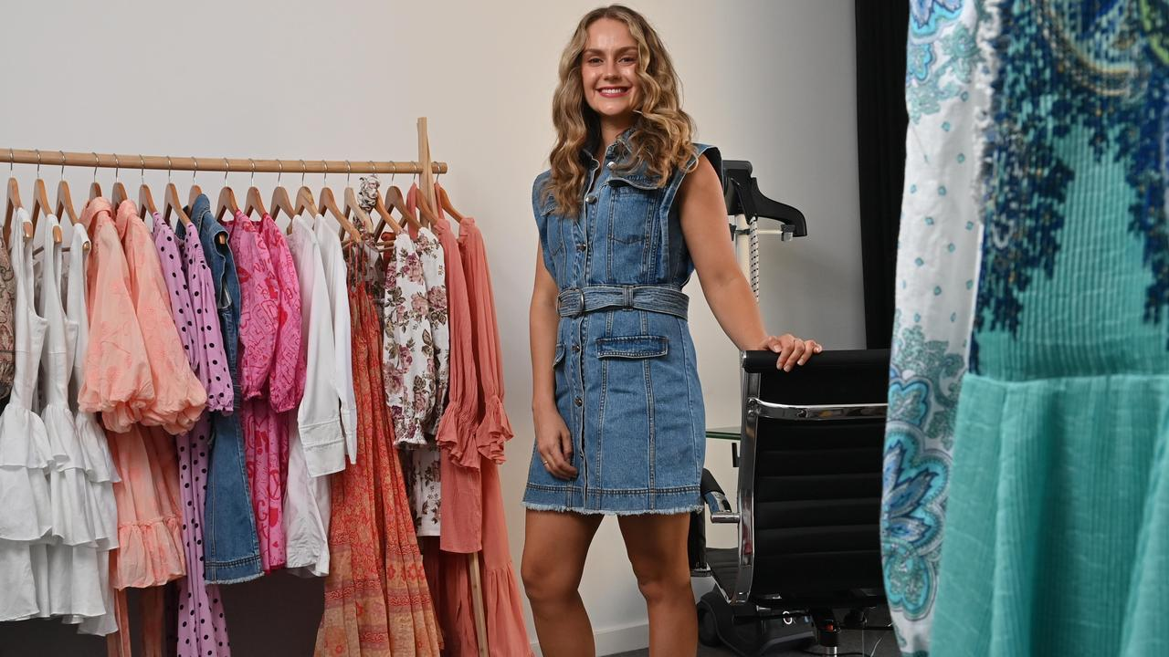 Jacqueline Alanne runs a sustainable fashion business and has noticed new money trends. Picture: Keryn Stevens