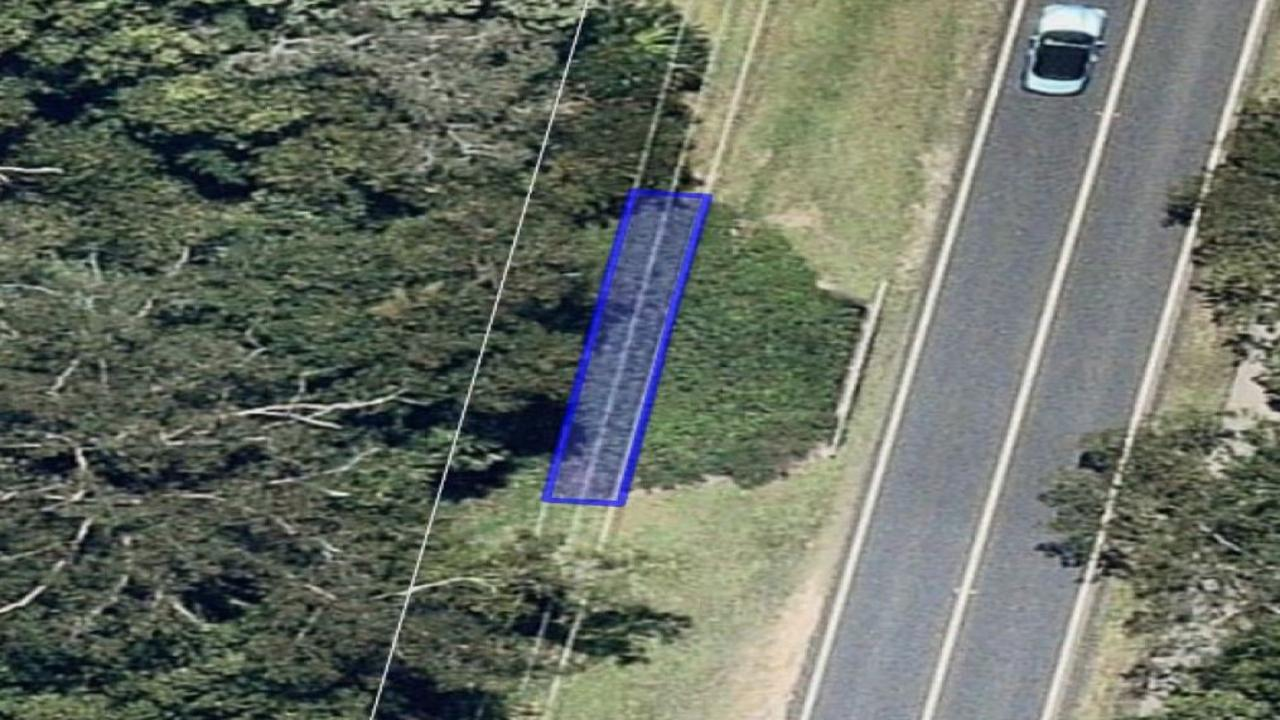 NEW PATH: The location of the new bridge in Buderim.