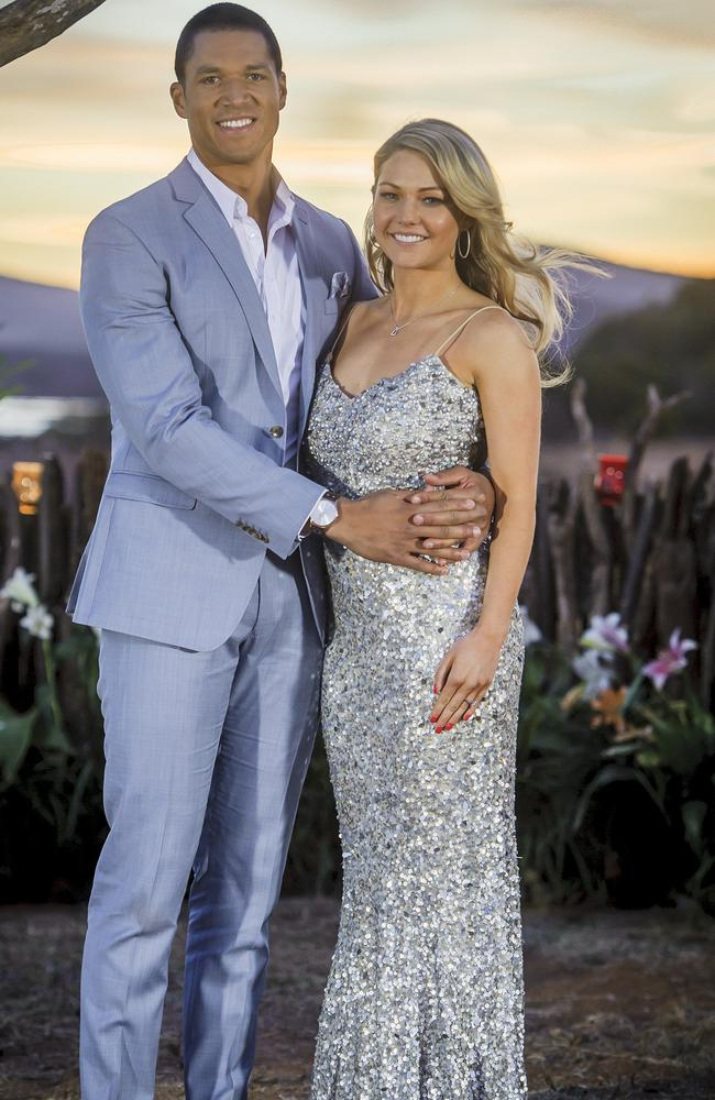 Former Bachelor star Blake Garvey proposed to Frost during the 2014 finale before abruptly changing his mind and dumping her for second runner-up Louise Pillidge