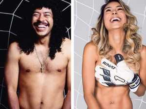 Insta influencer's bizarre nude tribute