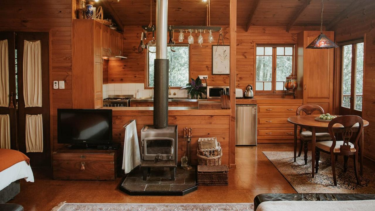 1. Maleny: The Bower couple's cabin for roughly $145/night