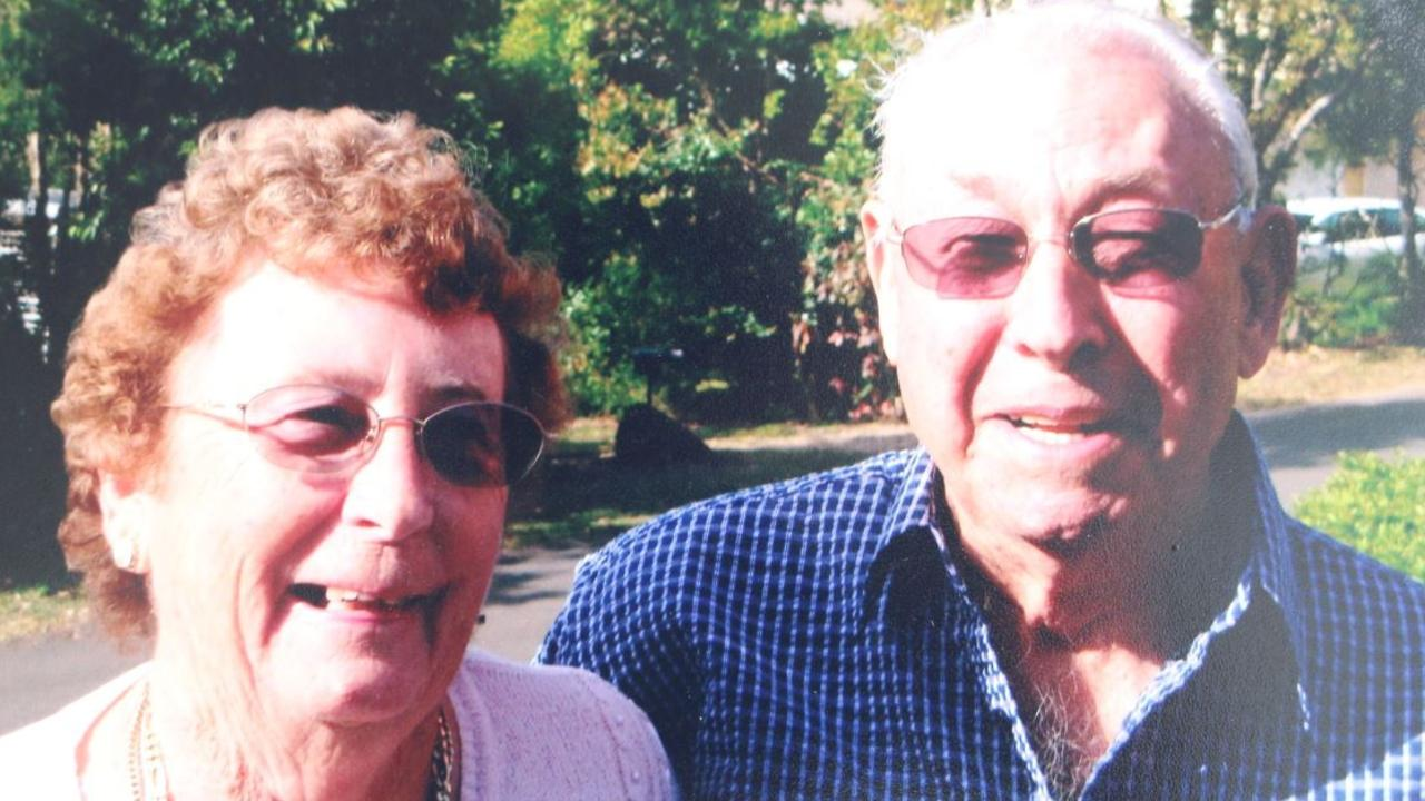 William 'Bill' Erbacher who founded Sunray Nursery in Coes Creek passed away on Wednesday at the age of 93. He is pictured with late wife Hazel.