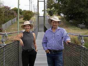 Now open: New life for iconic swinging bridge