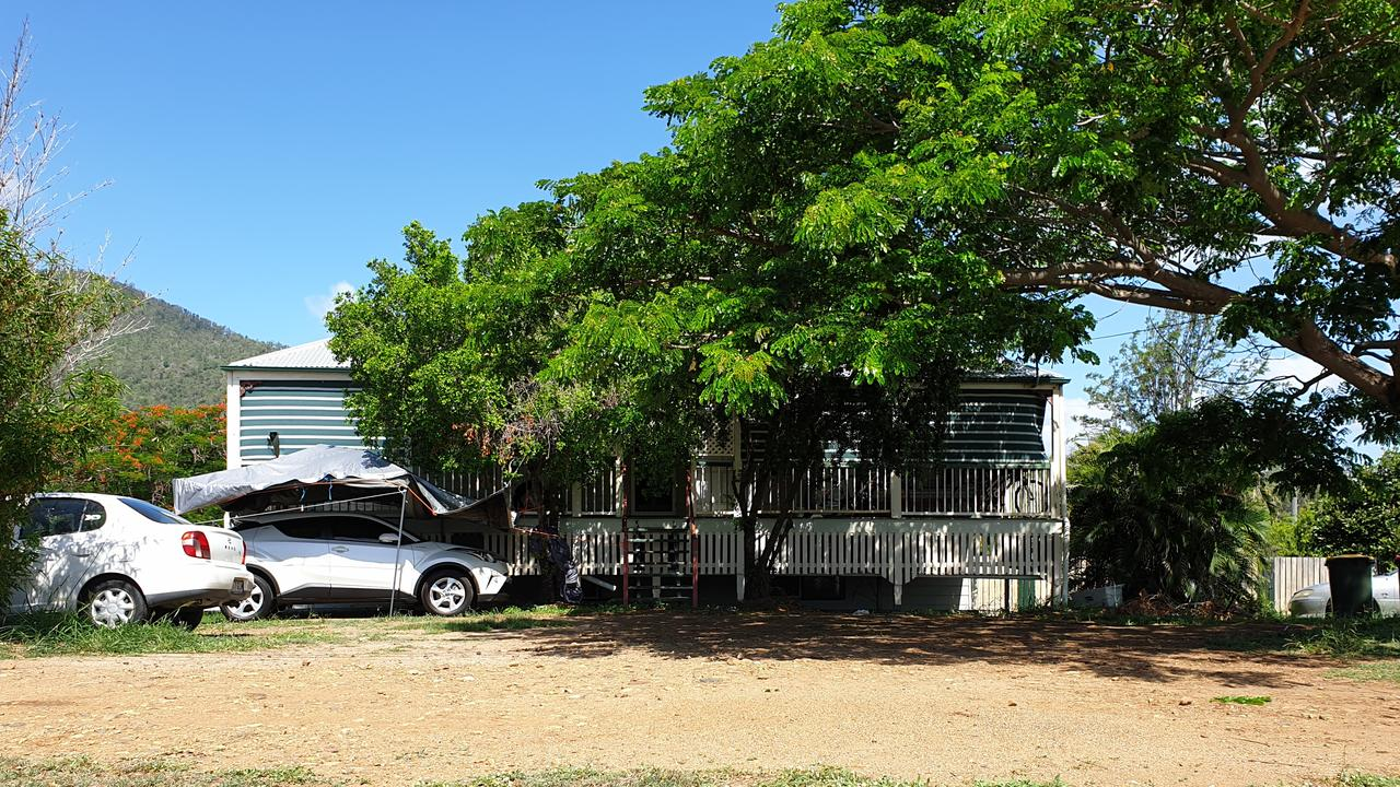 The Mackay Street, Lakes Creek home where police allege a man was attacked with a chair on Thursday, 28 January, 2021.