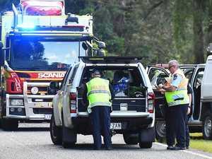 BREAKING: Fraser Coast man dead after horror truck crash