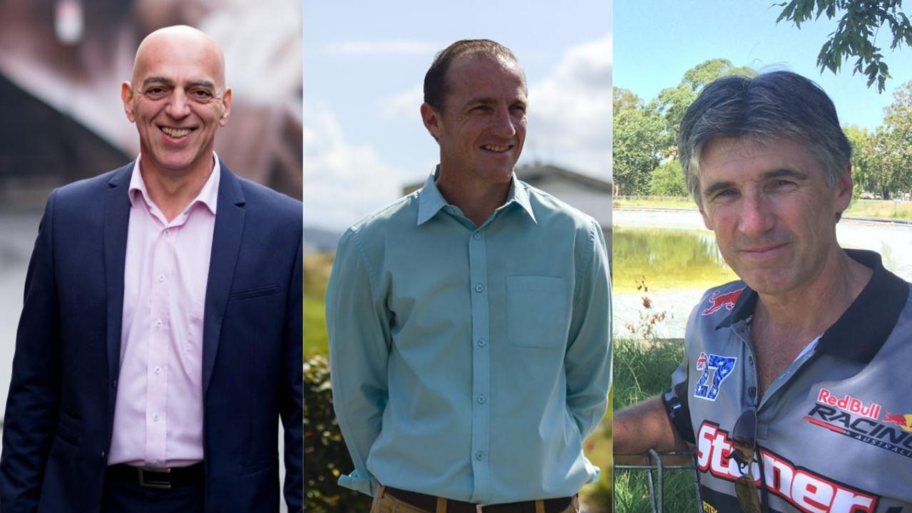 Gianpiero Battista, Isaac Smith and Greg Bennett have all quit Lismore City Council before the elections in September.