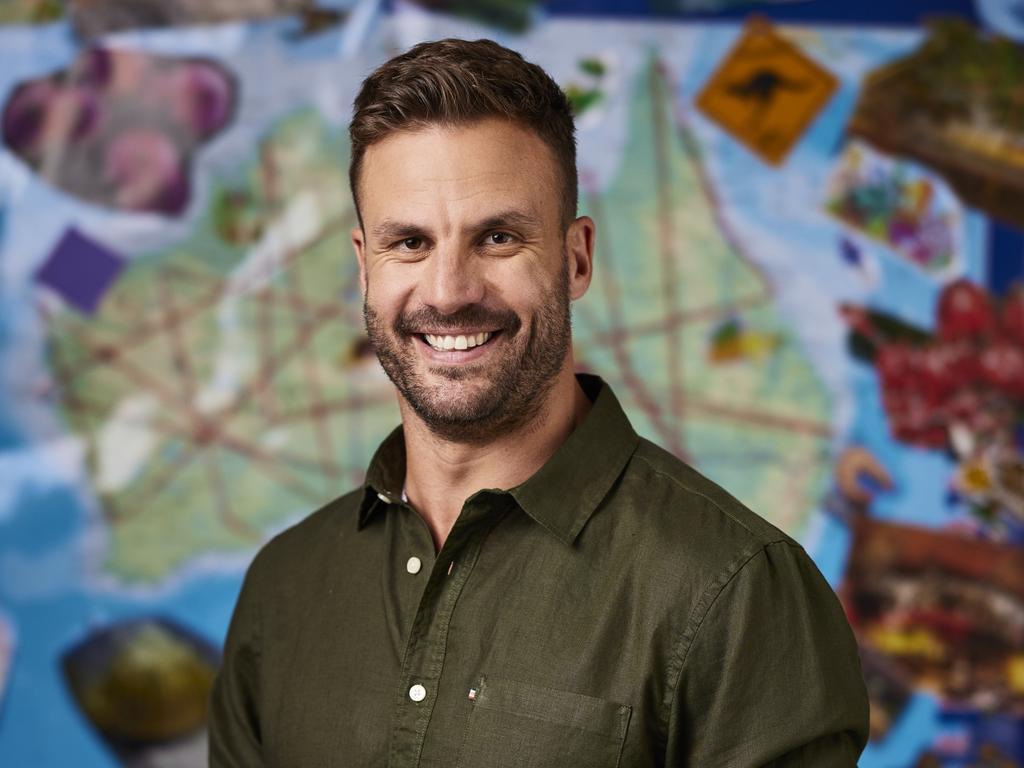 Beau Ryan hosts reality series The Amazing Race Australia.